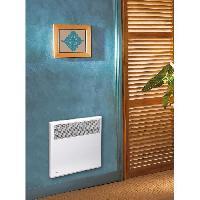 Genie Thermique - Climatique - Chauffage CONCORDE Vegas 1500 watts Radiateur electrique convecteur - Fil pilote 6 ordres - Compatible Tempo - Fabrication Francaise