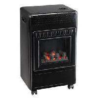 Genie Thermique - Climatique - Chauffage Favex Recommandé par Butagaz -Ektor Fire -3400 Watts -Chauffage d'appoint gaz Butane -Infrableu - Flammes apparentes - 3 puissances