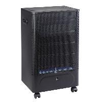 Genie Thermique - Climatique - Chauffage Favex Recommandé par Butagaz - Praha - 4200 Watts - Chauffage d'appoint gaz Butane - Infrableu - Systeme sécurisé - 3 puissances