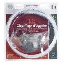 Genie Thermique - Climatique - Chauffage Kit butane avec tétine pour chauffage d'appoint gaz