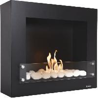 Genie Thermique - Climatique - Chauffage PURLINE BESTBIO DESIGN BLACK Cheminee bioethanol - Pure 2 Improve