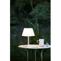 Genouillere De Jardinage Lampe de table solaire G2 tres eclairante avec detecteur de presence - 100 lumens