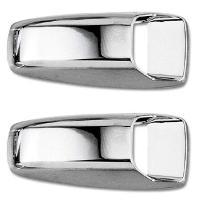 Gicleurs 2 couvre gicleurs - Chrome - ADNAuto