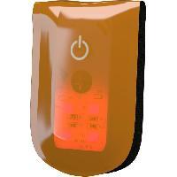 Gilet - Bandeau Reflechissant - Visio Bag - Reflecteurs WOWOW Clips magnétiques réfléchissants Magnetlight - 4 LED - Orange