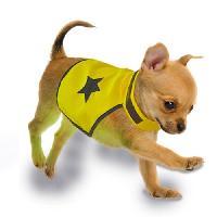 Gilet De Sauvetage - Securite DUVO Gilet de securite reflechissant - 40 cm - Jaune fluo - Pour chien
