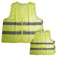 Gilet De Securite - Kit De Securite - Triangle De Securite 4 gilets de securite famille 2 adultes + 2 enfants