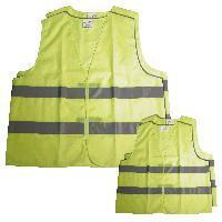 Gilet De Securite - Kit De Securite - Triangle De Securite 4 gilets de securite famille 2 adultes + 2 enfants - ADNAuto