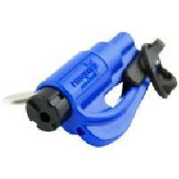Gilet De Securite - Kit De Securite - Triangle De Securite Porte-cles de survie ResQMe - couleur Bleu