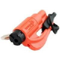 Gilet De Securite - Kit De Securite - Triangle De Securite Porte-cles de survie ResQMe - couleur Orange
