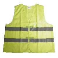 Gilets et Securite Gilet de securite jaune XL