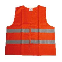Gilets et Securite Gilet de securite orange XL