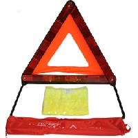 Gilets et Securite Kit triangle + gilet housse