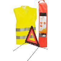 Gilets et Securite Pack securite triangle gilet avec housse