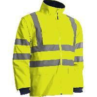 Gilets et Securite Parka Securite avec manches amovibles - Taille XL