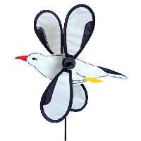 Girouette - Cadran Solaire ELLIOT Moulin a vent grande mouette
