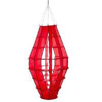 Girouette - Cadran Solaire HQ INVENTO Moulin a vent a suspendre - Lampion géant rouge