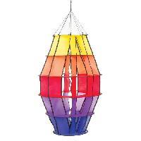 Girouette - Cadran Solaire HQ INVENTO Moulin a vent a suspendre - Petit lampion arc-en-ciel
