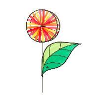 Girouette - Cadran Solaire HQ INVENTO Moulin a vent fleur a 2 roues Magic Wheel