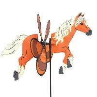 Girouette - Cadran Solaire HQ INVENTO Moulin a vent poney Spin Critter Pony