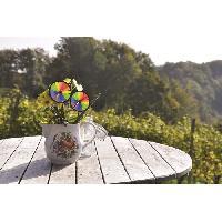 Girouette - Cadran Solaire ICARE Moulin a vent roue Rainbow - Ø18 cm