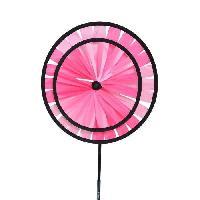 Girouette - Cadran Solaire ICARE Moulin a vent roue triple Rainbow - Ø18 cm