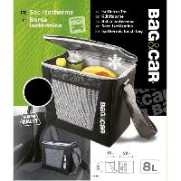 Glaciere Auto - Moto - Bateau BAG&CAR Sac isotherme 8L - MID