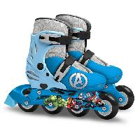 Glisse Urbaine AVENGERS Rollers Ajustables - Taille 30-33 - Marvel