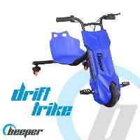 Glisse Urbaine BEEPER Tricycle électrique Driftrike enfant Bleu RDT100-B7