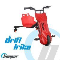 Glisse Urbaine BEEPER Tricycle électrique Driftrike enfant Rouge