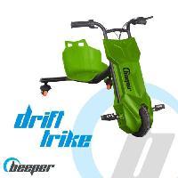 Glisse Urbaine BEEPER Tricycle électrique Driftrike enfant Vert