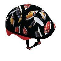 Glisse Urbaine DISNEY CARS Set de protections avec casque et sac en PVC pour enfant - Darpeje