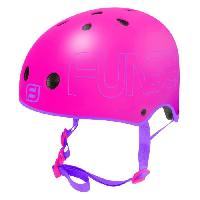 Glisse Urbaine FUNBEE Casque Rose bol taille S - Rose - Mousse Polyuréthane - Sangles Polyester