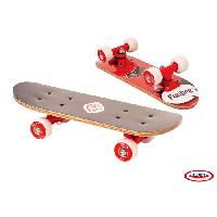 Glisse Urbaine FUNBEE Mini Skate Erable 17'' Rouge