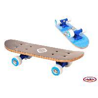 Glisse Urbaine FUNBEE Mini Skateboard enfant Erable 17'' Bleu