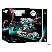 Glisse Urbaine FUNBEE Rollers en ligne T1 avec flashing wheels