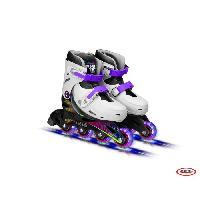Glisse Urbaine FUNBEE Rollers en ligne T1 avec roues LED