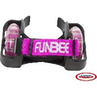 Glisse Urbaine FUNBEE Roulettes Flashing wheels + DEEE Rose