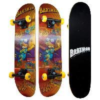 Glisse Urbaine LES SIMPSONS Skateboard Hologramme Bart Simpsons