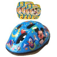 Glisse Urbaine MICKEY Combo Set de Protection Casque + Coudieres-Genouillere Stamp