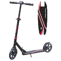 Glisse Urbaine MTS Trottinette Adulte Street Master 200mm - Rouge Aucune