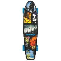 Glisse Urbaine Skateboard Vintage Stripe 22.5''
