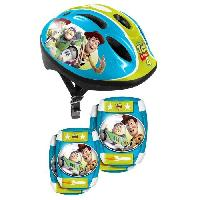 Glisse Urbaine TOY STORY 4 Combo casque + genouilleres + coudieres Disney