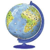 Globe Terrestre Puzzle 3D 180 pieces XXL Mappemmonde