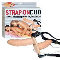 Godes Ceinture Double gode ceinture vibrant Strap-On Duo