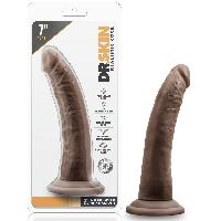 Godes ventouses Gode Ventouse Chocolat Realiste DR Skin Basic - 18 cm-D3.7cm