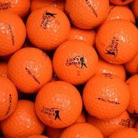 Golf LINKS CHOICE Lot de 6 Balles de Golf - Orange