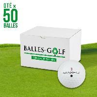 Golf MAXFLI Lot de 50 Balles de Golf Max Fli Reconditionnees Generique