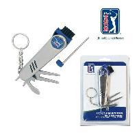 Golf PGA TOUR Outil multi- fonction Golf - Argent et Bleu
