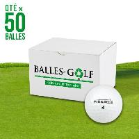 Golf PINNACLE Lot de 50 Balles Pinnacle Mixed Model Reconditionnees Generique