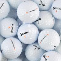 Golf SECOND CHANCE Lot de 6 Balles de Golf Srixon Tri Speed - Blanc
